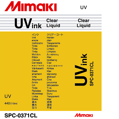 SPC-0371Cl UV curable ink Clear