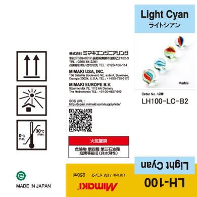 LH100-C-B2 LH-100 Light Cyan