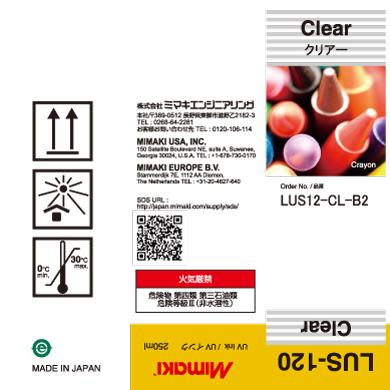LUS12-CL-B2 LUS-120 Clear
